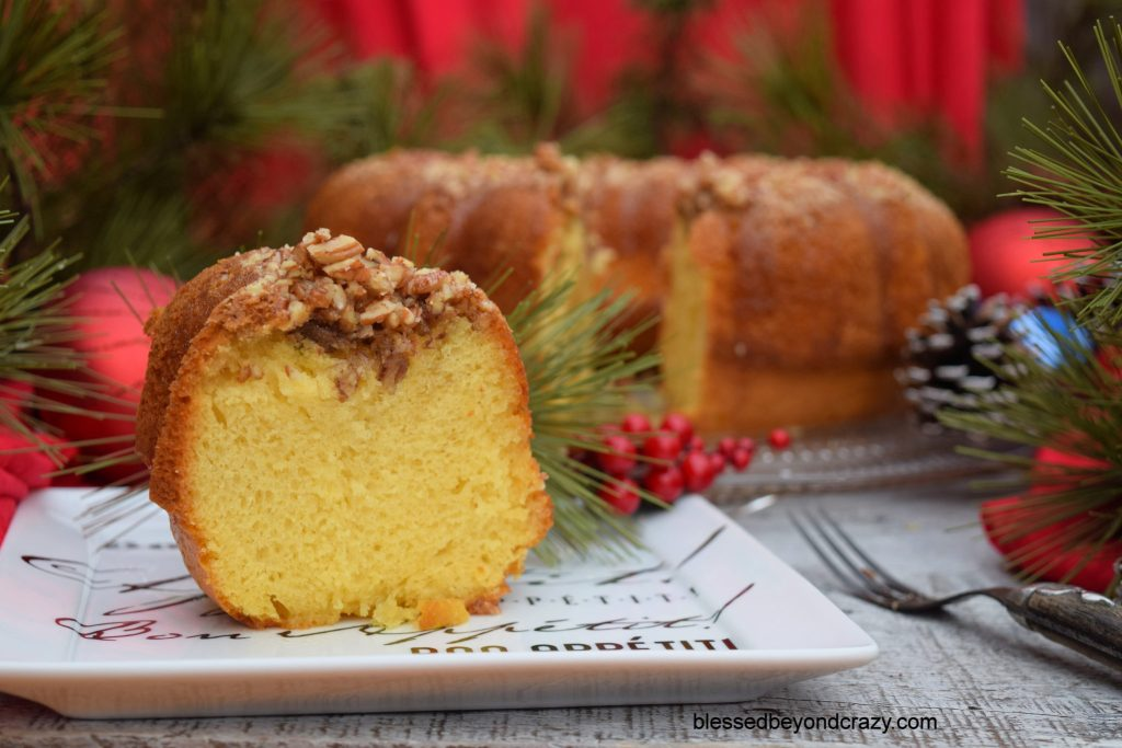 Classic Holiday Rum Cake 2