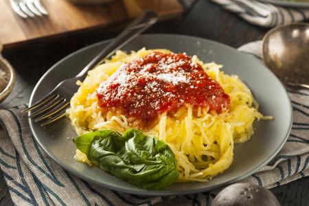 Spaghetti Squash Cajun Seafood Jambalaya