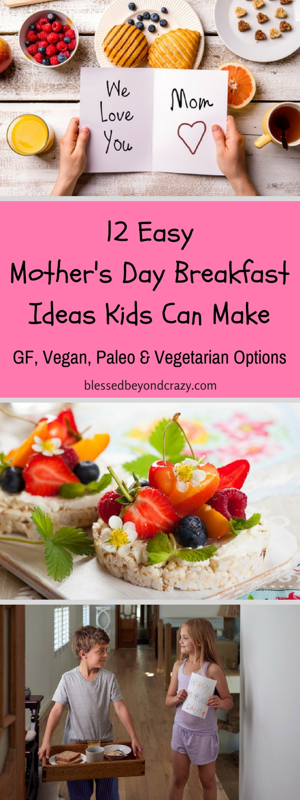 12 Easy Mother's Day Breakfast Ideas Kids Can Make