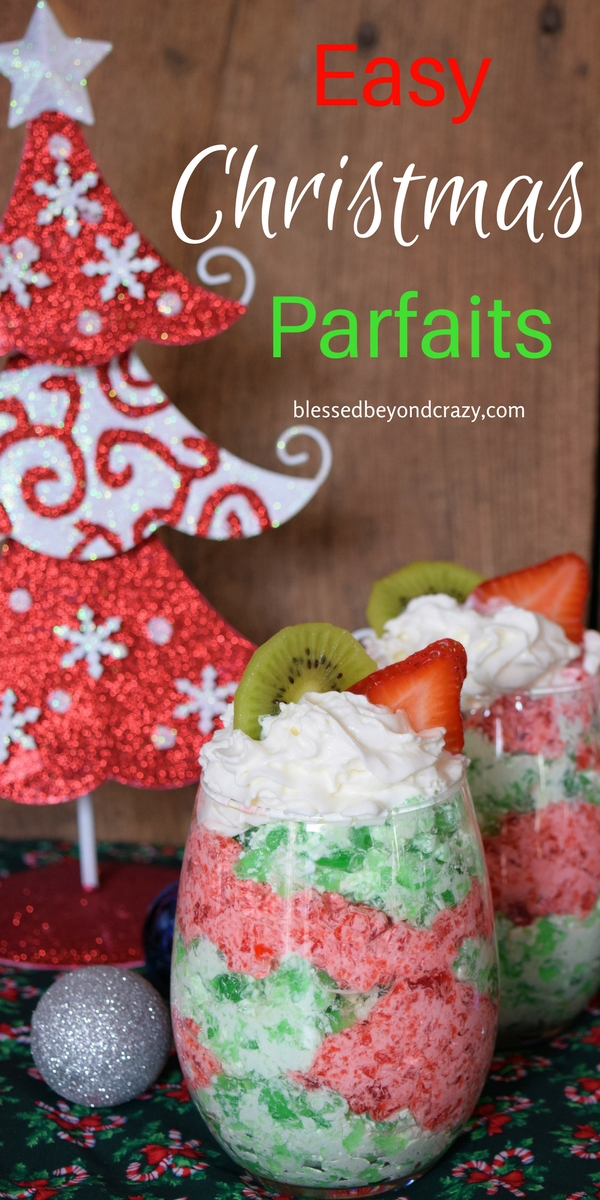 Easy Christmas Parfaits