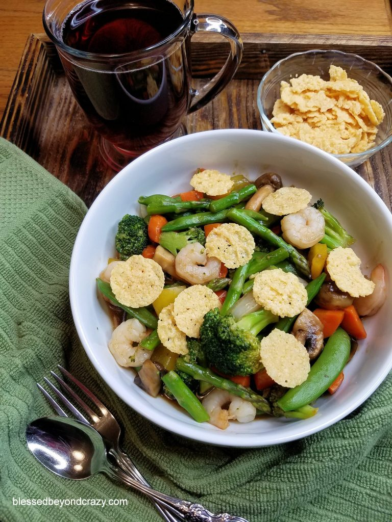 Low-Carb Veggie Shrimp Stir-Fry