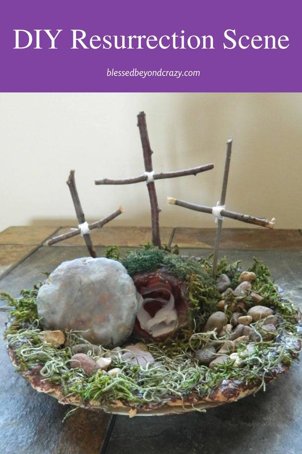 DIY Resurrection Scene