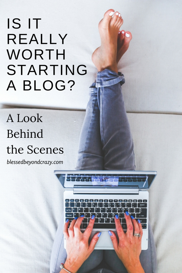 Is It Really Worth Starting A Blog? A Look Behind the Scenes