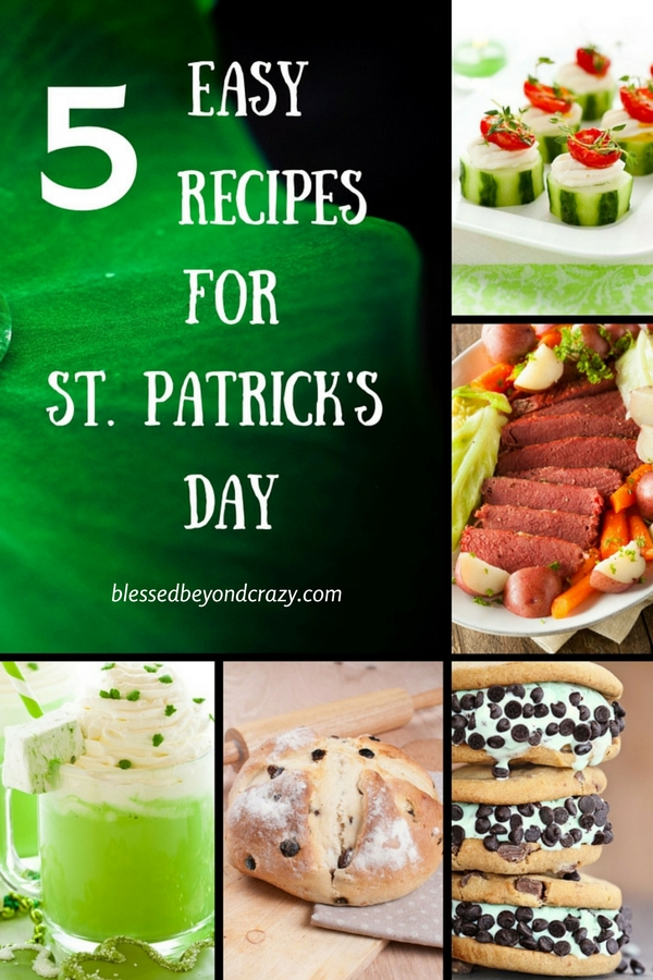 5 Easy Recipes for St. Patrick's Day