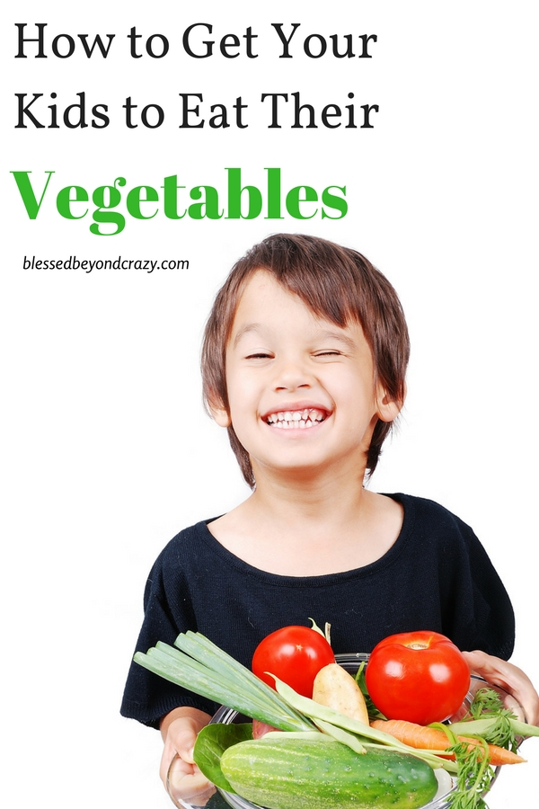 How to Get Your Kids to Eat Their Vegetables