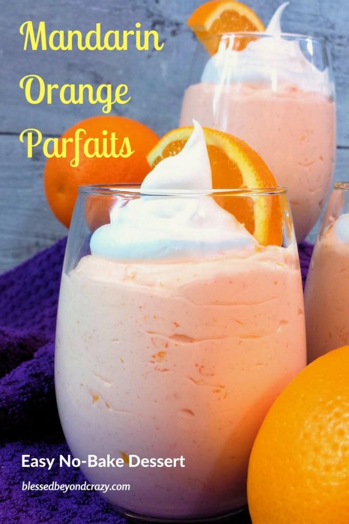 Mandarin Orange Parfaits