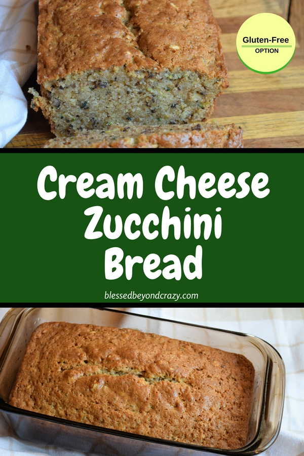 Cream Cheese Zucchini Bread