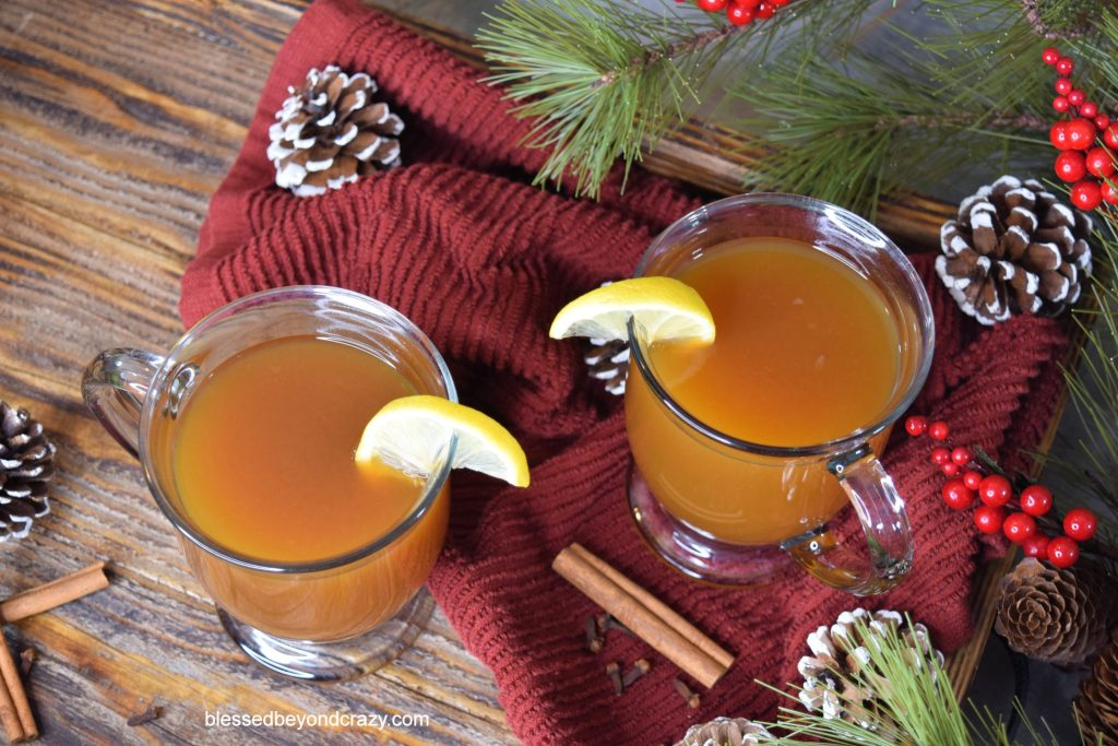 Apricot Hot Toddy