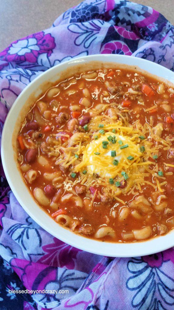 Copy Cat Olive Garden's Pasta e Fagioli