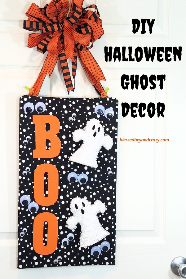 Diy Halloween Ghost Decor
