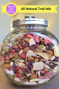All Natural Trail Mix