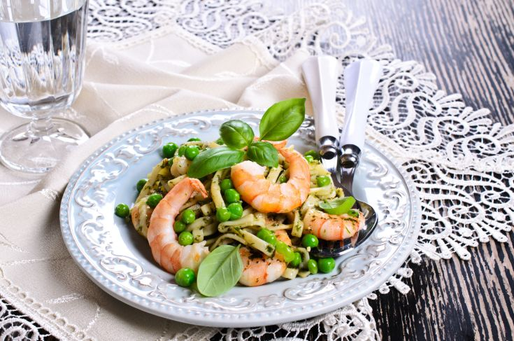 16 Minute Shrimp Pasta Meal