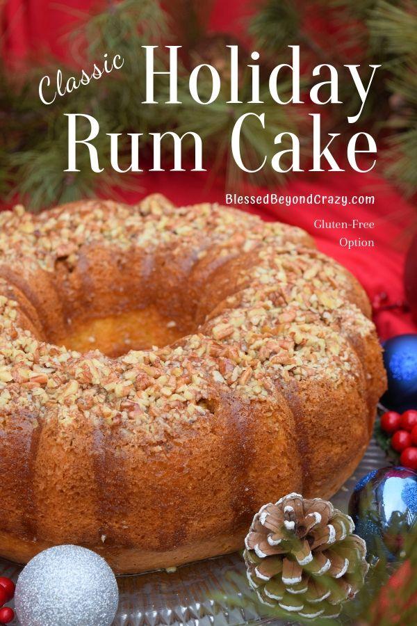 Gluten Free Rum Cake Recipe