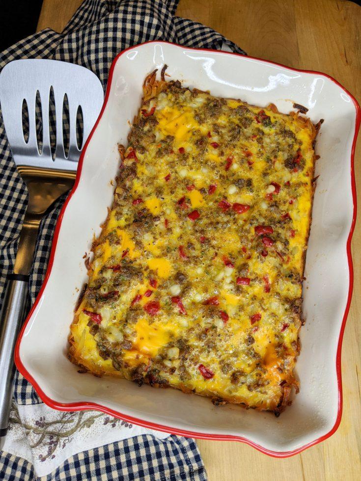 Simple Gluten-Free Breakfast Casserole