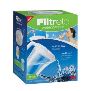 Filtrete Water Pitcher {Review and Giveaway}