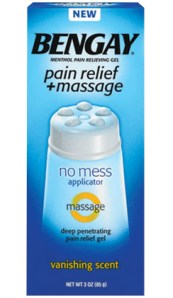 BENGAY Pain Relief + Massage {Review}