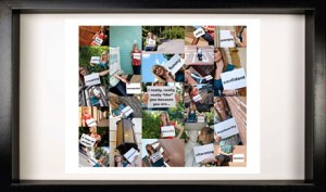 $15 for $30 Worth of Photo Collages on Plum District