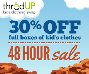 flash sale at thredUp