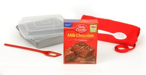 @BettyCrocker Milk Chocolate Brownies {Review & #MyBlogSpark #Giveaway}
