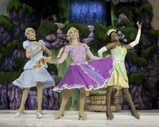 Cinderella, Rapunzel and Tiana