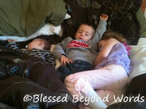Wordless Wednesday 10/5: I Love Morning Nap Time! {Linky!}