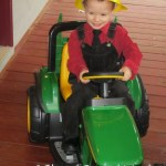 Parker and his tractor