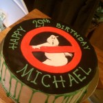 Zander is obsessed with Ghostbusters, so he HAS to have this cake. :)