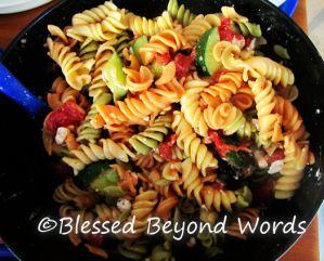#BackyardBash Recipe: Greek Pasta Salad
