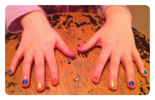 Lucy's fingers