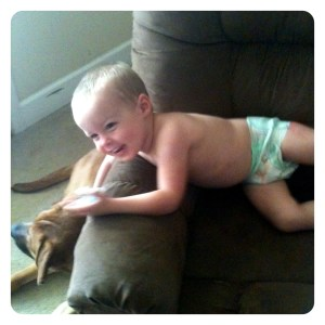Our #FirstFit with Huggies Slip-On Diapers (Sponsored)
