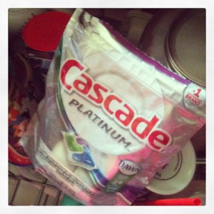 Cascade Platinum Pacs Make Dishes Sparkle! #MyPlatinum #Sponsored