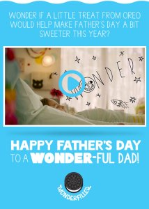 Spread the Wonder with Oreo This Father's Day {Giveaway, Sponsored}