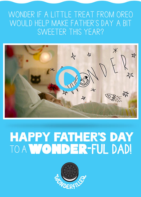 Father's Day with Oreo
