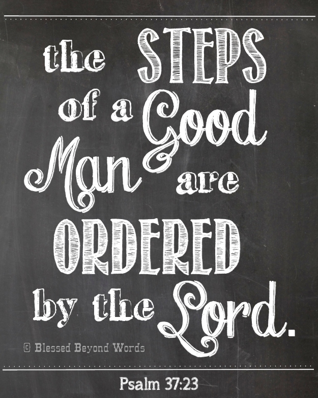 the steps of a good man free printable