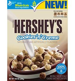 Hershey's Cookies & Creme Cereal