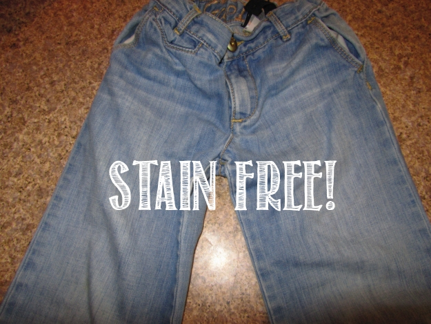 no more stains