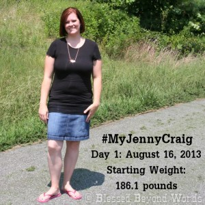 Getting Started on #MyJennyCraig – Let's Do This! #Sponsored #WeightLoss