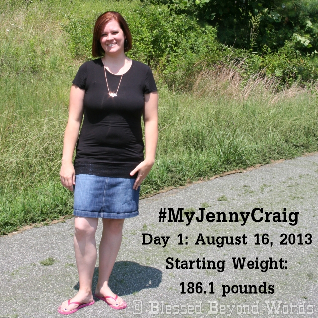 Day 1 on Jenny Craig