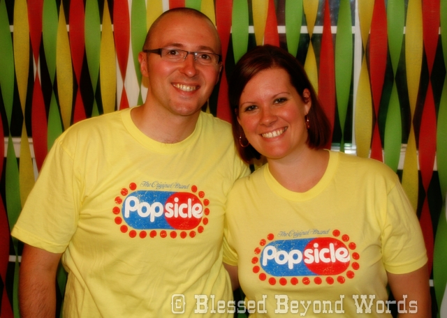 me and hubby and Popsicle
