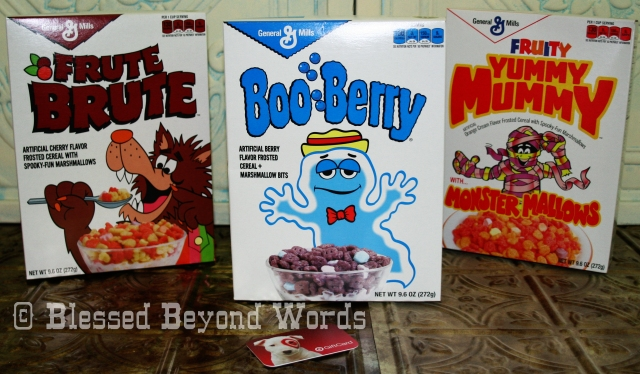 Monster Cereals Giveaway