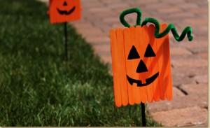pumpkin stakes