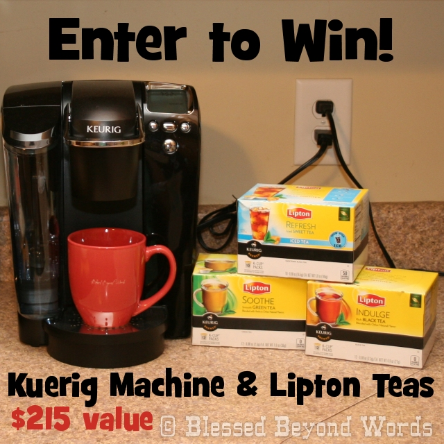 win big from kuerig and lipton