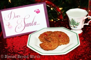 #Sponsored: @HodgsonMillinc #GRAINHoliday Recipe: Oatmeal Cherry Delights, Santa's Favorite Cookie