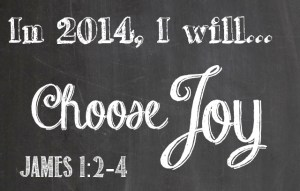 This Year, I will Choose Joy