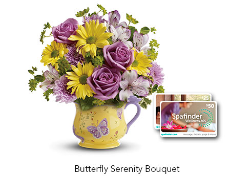 Spa Finder Bouquet