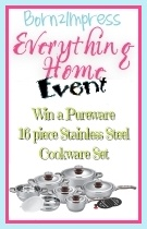 Win a Pureware 16 Piece Stainless Steel Cookware Set