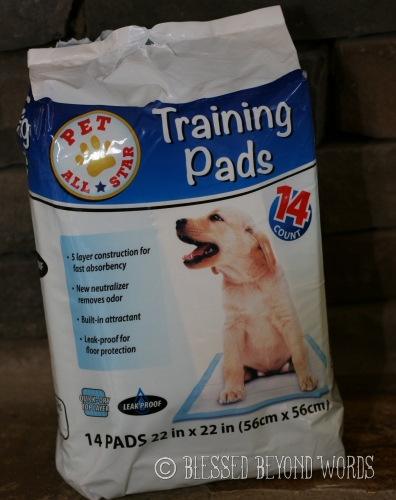 puppy pads for potty training