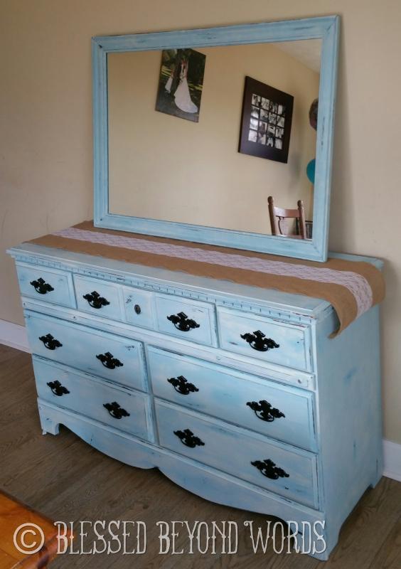 chalk paint dresser