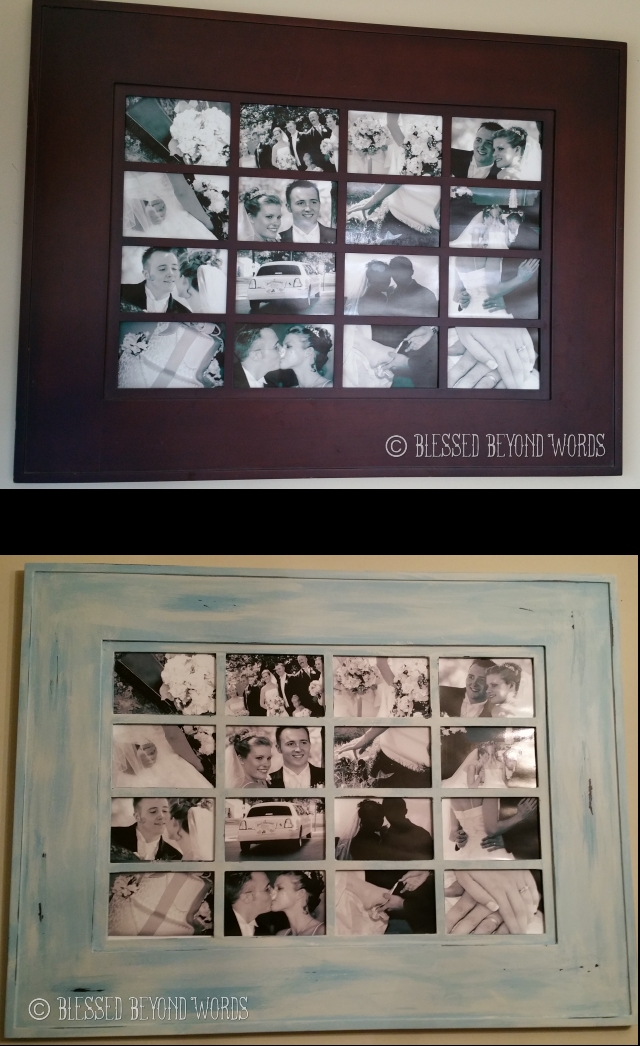 frame before and after