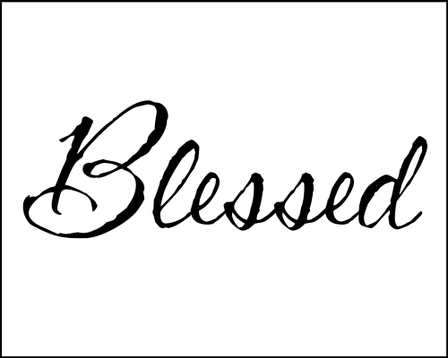 blessed free printable